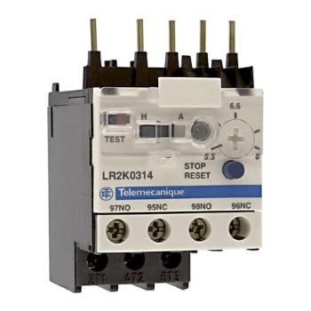 Тепловые реле перегрузки Schneider Electric TeSys K серии LR2K 3П (токи 0,11-16 А) для контакторов LC1-K, LP1-K цена