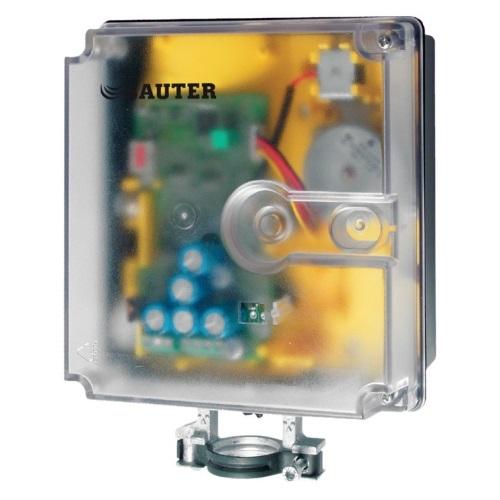 Привод с пружинным возвратом и позиционером SUT Sauter AVF125S для регуляторов с аналоговым выходом цена