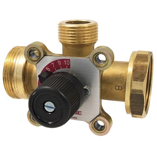 Клапаны смесительные 3-х ходовые, DZR латунь, ESBE 3MGP, PN 10, НР х НГ цена