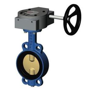 Затворы дисковые поворотные межфланцевые чугунные с диском из нержавеющей стали Ду 400 цена
