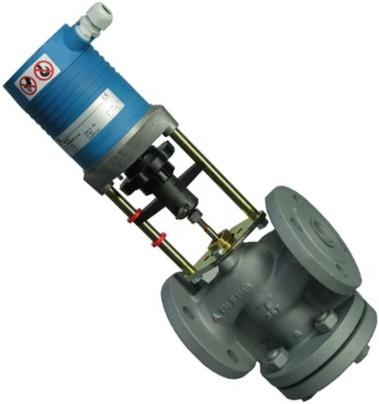 Клапаны регулирующие 2-х ходовые фланцевые под электропривод PN16 IMI TA CV216 GG цена