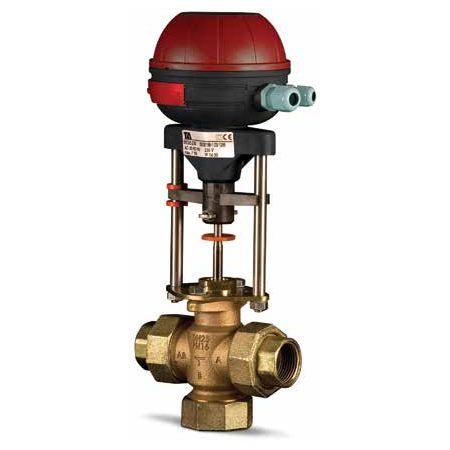 Клапаны регулирующие 3-х ходовые муфтовые под электропривод PN16 IMI TA CV316 RGA цена