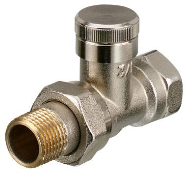 Клапаны радиаторные Danfoss RLV запорно-присоединительные для 2-х тр. системы отопления цена