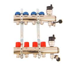 """Коллекторные группы 1""""ВР латунь, c балансировочными клапанами, Emmeti Topway, (м/о 50 мм) цена"""
