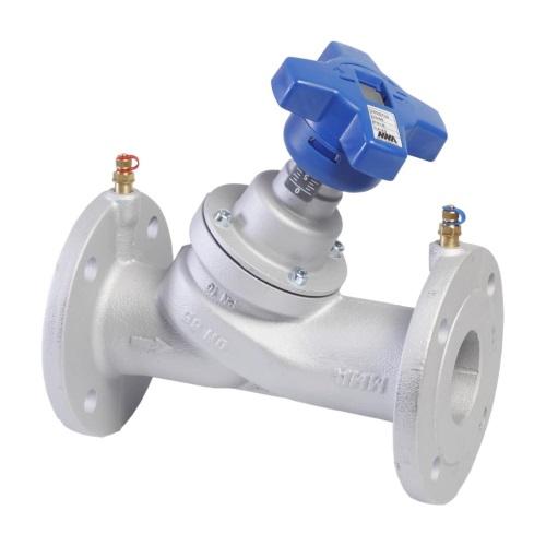 Клапаны балансировочные ручные фланцевые с измерительными ниппелями MMA STV Ду 65-20 из чугуна цена