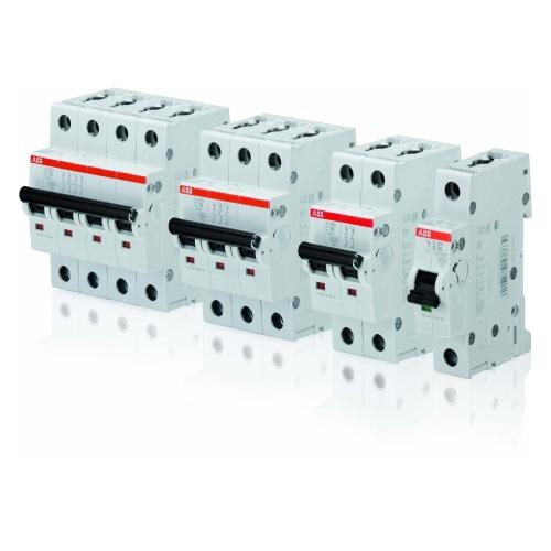 Автоматические модульные выключатели 6кА ABB серии S200 с характеристикой срабатывания D цена