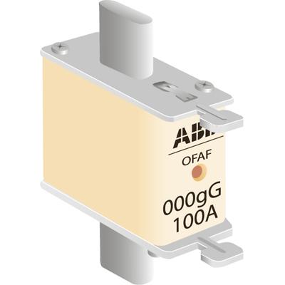 Предохранители (плавкие вставки) ABB OFAF000 тип gG размер 000 до 500В цена