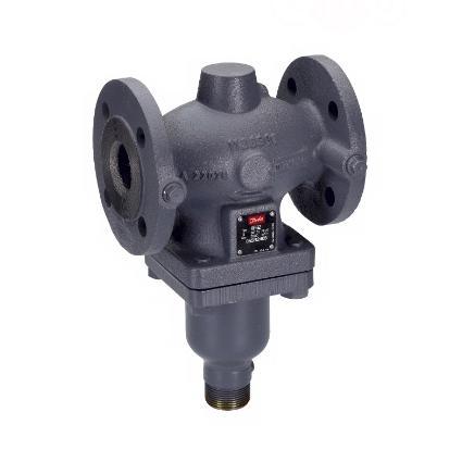 Клапаны регулирующие 2-х ходовые фланцевые седельные Danfoss VFG2  и VFGS2 цена