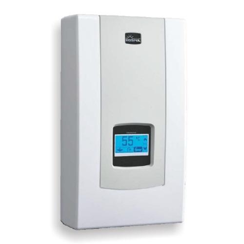 Водонагреватели электрические проточные c электронным управлением Kospel Focus electronic PPVE с сенсорным LCD экраном, 3х380В цена