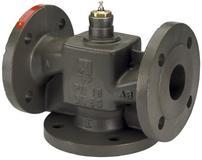 Клапаны регулирующие 3-х ходовые фланцевые седельные под электропривод Danfoss VF3 цена