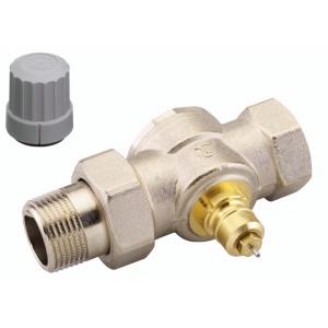 Клапан термостат., 1 тр. система без настройки, прямой, никел. латунь, RTD-G/RA-G цена
