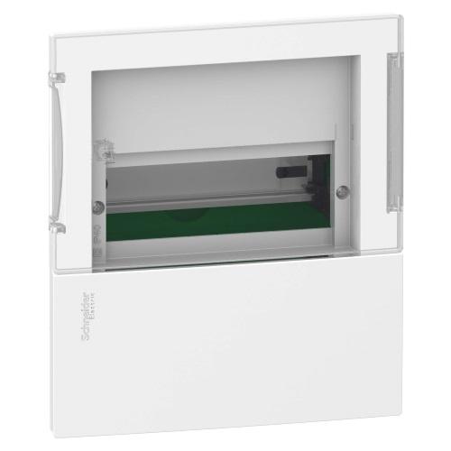 Боксы электротехнические встраиваемые Schneider Electric Mini Pragma с клеммником, прозрачная дверь, IP40 цена