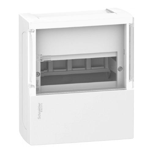 Боксы электротехнические навесные Schneider Electric Mini Pragma с клеммником, прозрачная дверь, IP40 цена
