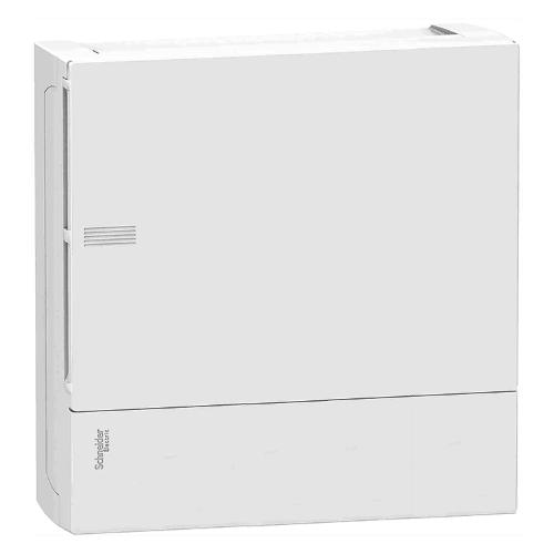 Боксы электротехнические настенные Schneider Electric Mini Pragma с клеммником, белая непрозрачная дверь, IP40 цена