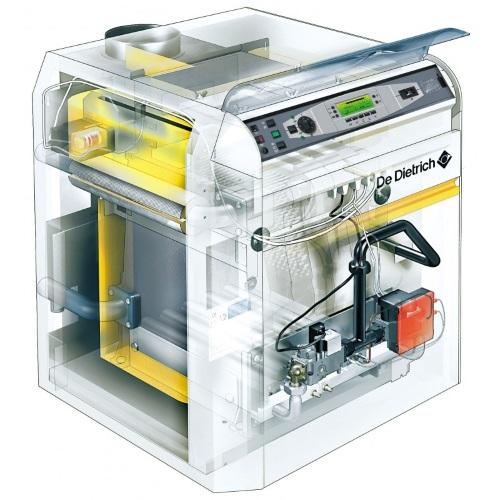 Комплектующие и запчасти для напольных чугунных газовых котлов De Dietrich DTG 220/230 Eco.NOx цена