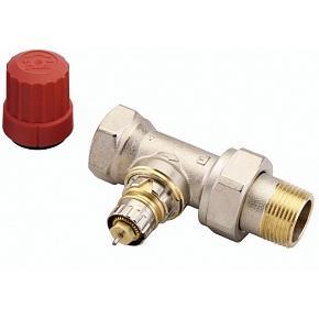 Клапан термостат., 2-х тр. система, с предв. настройкой, прямой, никел. латунь, RTD-N/RA-N цена