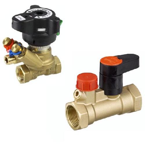 Комплект ручных балансировочных клапанов LENO™ MSV-BD/S цена