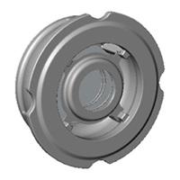 Обратный клапан межфланцевый, осевой, нерж ст./нерж.сталь, Tecofi CА 6460 цена