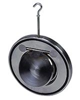 Обратный клапан межфланцевый, створчатый, нерж ст./нерж.сталь, Tecofi CB 6441 цена