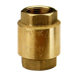 Обратный клапан муфтовый пружинный, York, латунь, Itap 103 цена