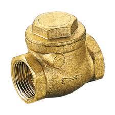 Обратный клапан муфтовый створчатый, латунь, Tiemme 3660 цена