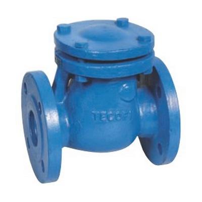Обратный клапан фланц., створчатый, чугун, Tecofi CB 3240 цена