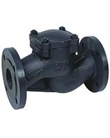 Обратный клапан фланц., подъемный, чугун, Tecofi CS 3240 цена