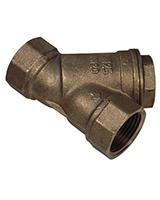 Фильтр муфтовый, косой сетчатый, бронза, Tecofi F 2143 цена