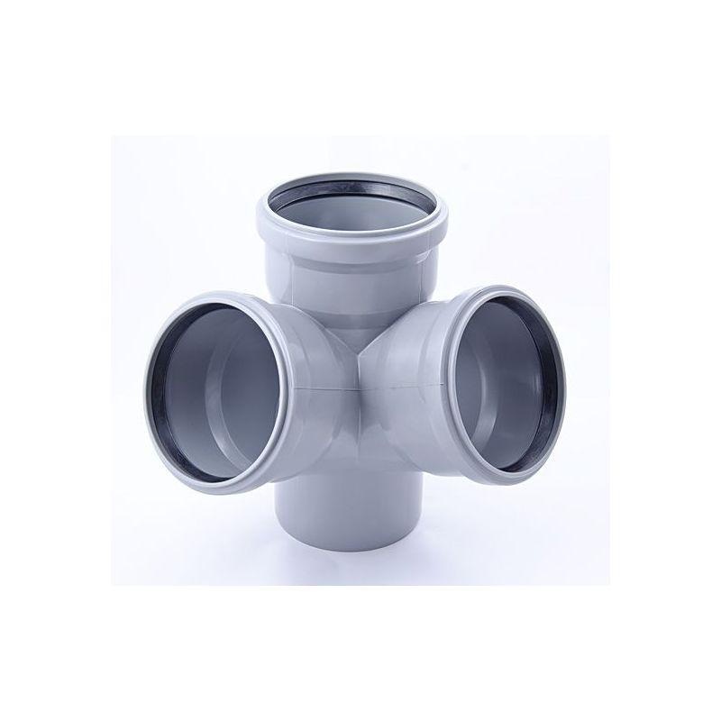 Крестовина ПП серый, 2-х плоскостная, 67° цена