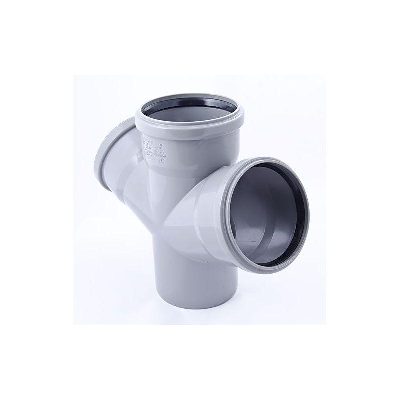 Крестовина ПП серый, одноплоскостная, 67° цена
