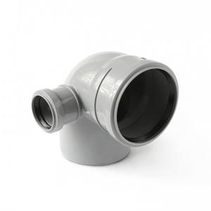 Отвод ПП серый, с выходом, правый цена