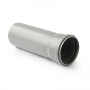 Труба ПП серый, однораструбная, 110 цена