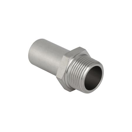 Муфта гладкий/НР для стальных тонкост. труб, нерж. сталь цена