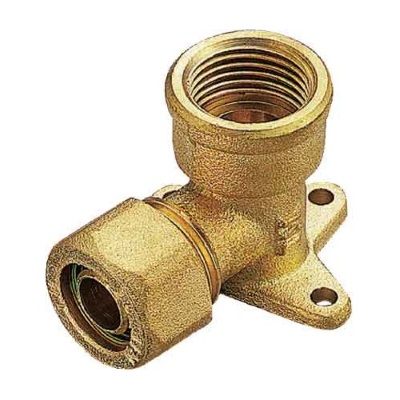 Обжимная водорозетка для РЕХ труб, латунь, Tiemme 1406 цена
