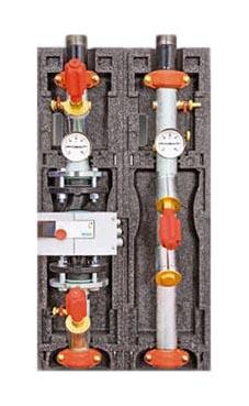 Насосная группа без 3-х ход. смесителя, под фланц. насос (без насоса), Meibes FL-UK цена