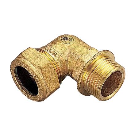 Обжим уголок 90 комбинированный обжим/НР, для медных труб цена