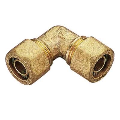 Обжимной уголок для PEX труб, латунь, Tiemme 1403 цена