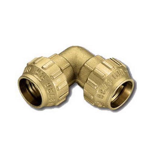 Отвод 90' для ПНД труб, латунь цена