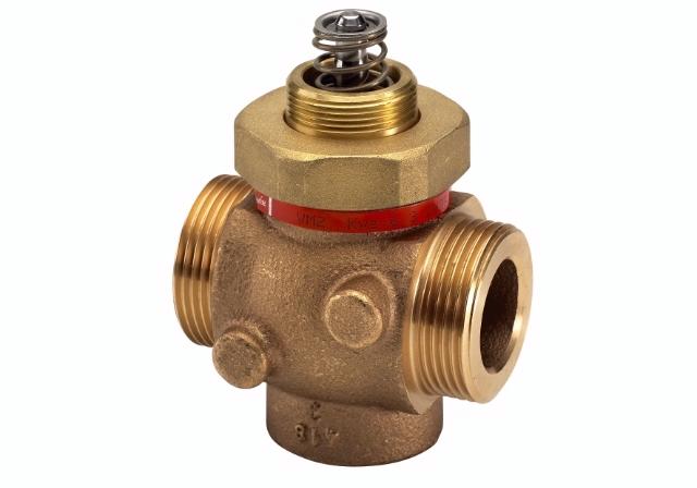 Клапаны регулирующие 2-х ходовые муфтовые под электропривод Danfoss VM2 цена