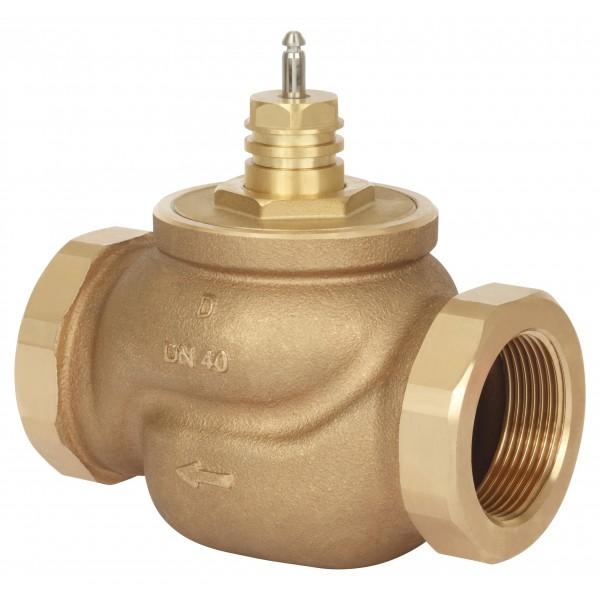 Клапаны регулирующие 2-х ходовые муфтовые под электропривод Danfoss VRB2 цена