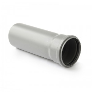 Труба ПП серый, однораструбная, 75 цена
