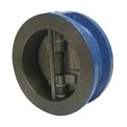Обратный клапан межфланцевый, двухстворчатый, чугун/нерж.сталь цена
