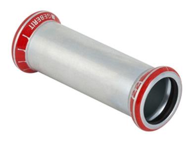 Муфта надвижная для стальных тонкост. труб, оцинк. сталь цена