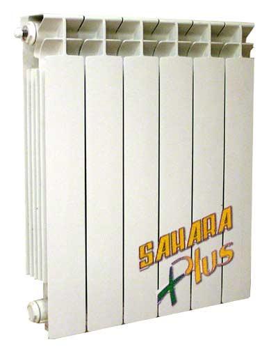 Радиатор алюминиевый, 97 мм, 16 бар, Sahara Plus 500 цена
