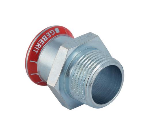 Муфта пресс/НР для стальных тонкост. труб, оцинк. сталь цена