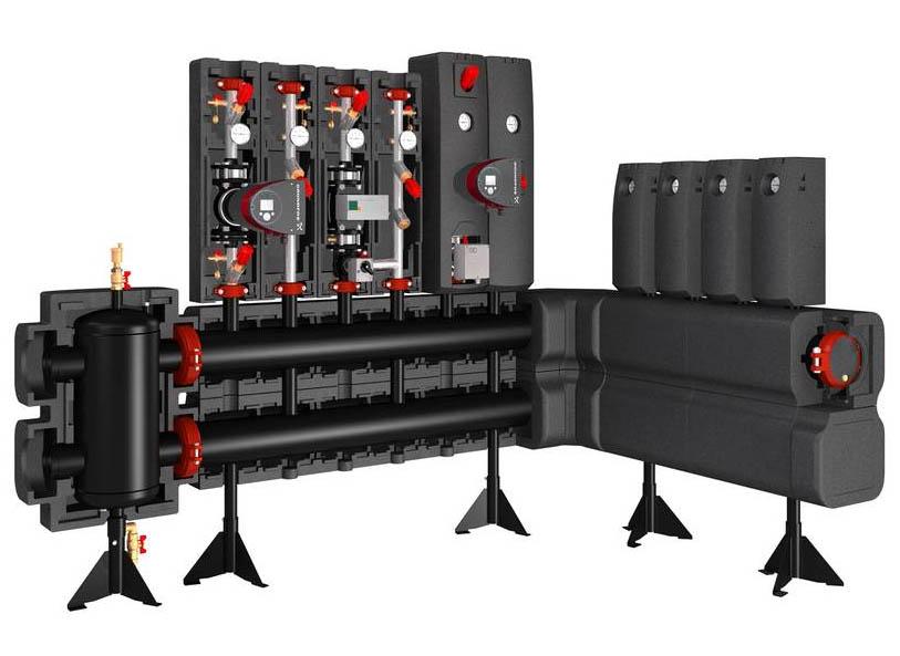 Модульная распределительная система до 2,8 МВт, Meibes Victaulic цена