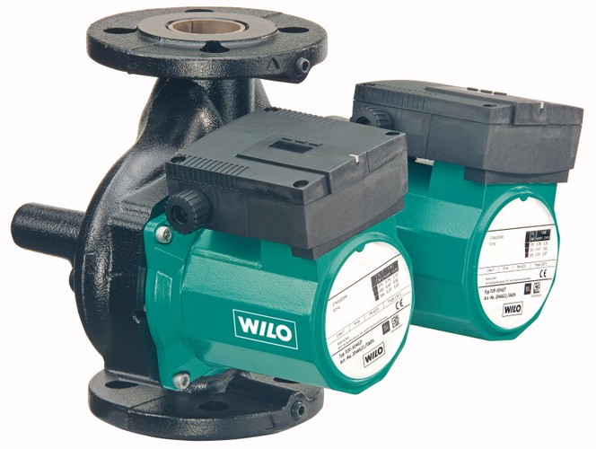 Циркуляционный насос сдвоенный Wilo-TOP SD цена