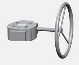 Редуктор для дискового поворотного затвора цена