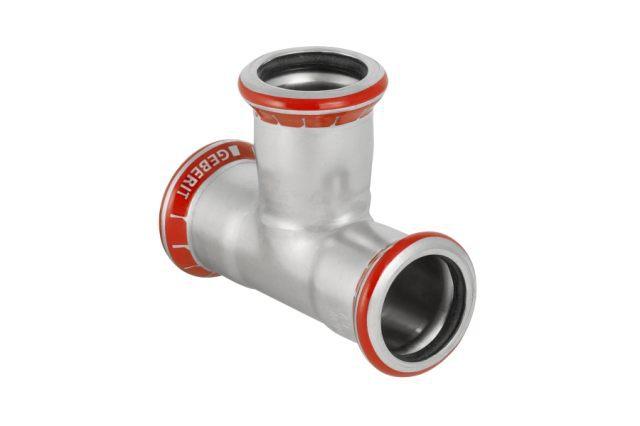 Тройник для стальных тонкост. труб, оцинк. сталь цена