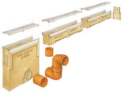 Система линейного водоотвода ACO Drain N100 K цена